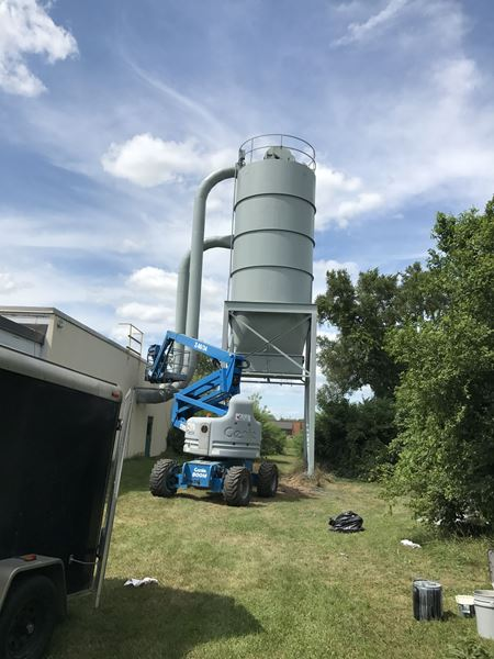 Dust collector after